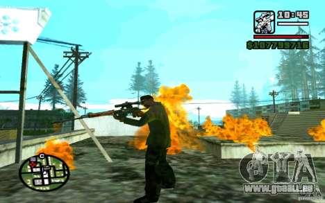 Dragunov sniper rifle v 1.0 pour GTA San Andreas quatrième écran