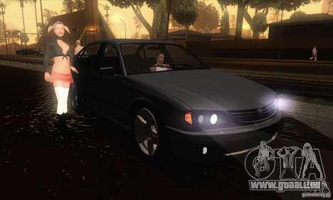 GTA IV Merit für GTA San Andreas Rückansicht