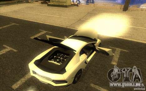 Lamborghini Aventador LP700-4 pour GTA San Andreas vue de côté