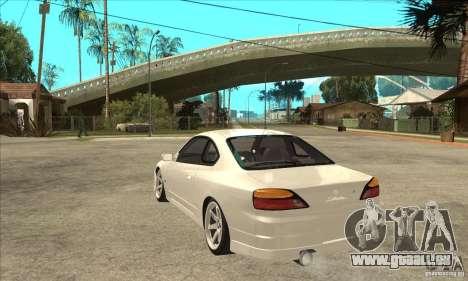 Nissan Silvia S15 Japan Drift pour GTA San Andreas sur la vue arrière gauche