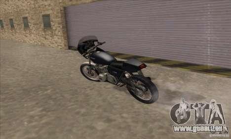 Kawasaki KZ1000 für GTA San Andreas Rückansicht
