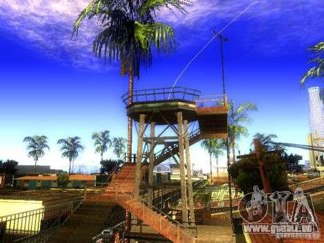 Base de Grove Street pour GTA San Andreas troisième écran