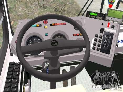 LIAZ 5256.25 für GTA 4 Rückansicht