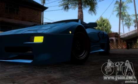 Lamborghini Diablo SV V1.0 für GTA San Andreas Innen