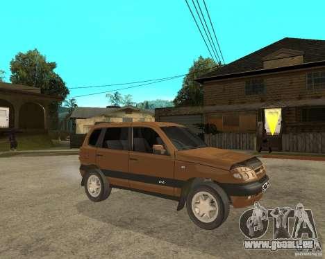 CHEVROLET NIVA Version 2.0 für GTA San Andreas rechten Ansicht