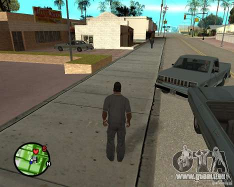 Police On Radar für GTA San Andreas
