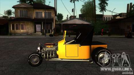 Ford T 1927 Hot Rod für GTA San Andreas linke Ansicht