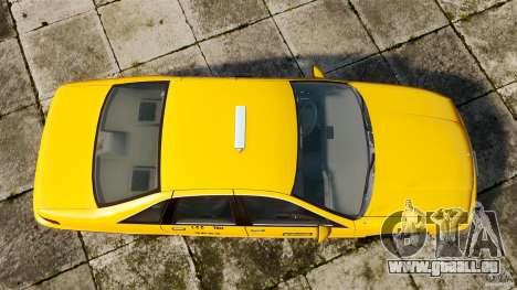 Chevrolet Caprice 1991 LCC Taxi pour GTA 4 est un droit