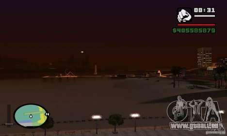 0,075 ENBSeries (juste de l'eau) pour GTA San Andreas sixième écran