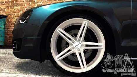 Audi A8 2010 pour GTA 4 est une gauche