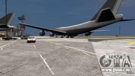 Lufthansa MOD für GTA 4 linke Ansicht