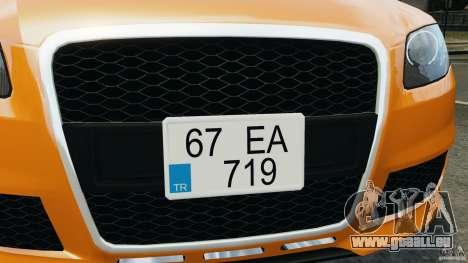 Audi RS4 EmreAKIN Edition pour le moteur de GTA 4