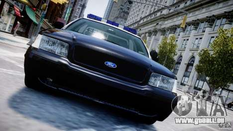 Ford Crown Victoria Massachusetts Police [ELS] für GTA 4-Motor