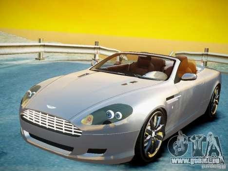 Aston Martin DB9 Volante v2.0 pour GTA 4 Vue arrière de la gauche