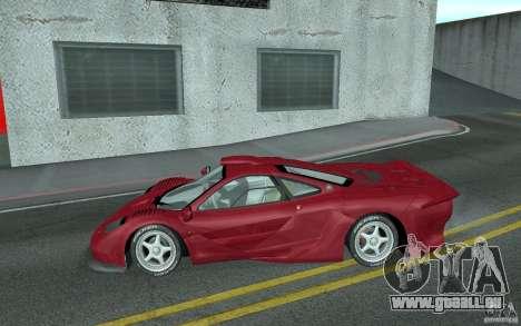 Mclaren F1 GT (v1.0.0) pour GTA San Andreas laissé vue