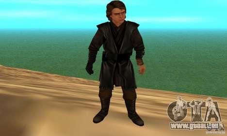 Anakin Skywalker pour GTA San Andreas troisième écran