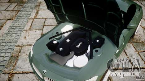 BMW Z4 sDrive35is 2011 v1.0 pour GTA 4 est une vue de l'intérieur