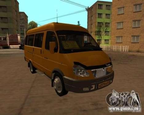 Gazelle 2705-taxi für GTA San Andreas