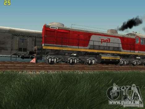 Tem2-6883 RZD pour GTA San Andreas laissé vue