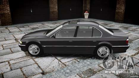 BMW 740i (E38) style 37 pour GTA 4 est une vue de l'intérieur