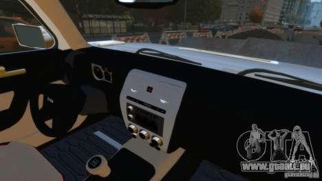 Hummer H3 2005 Gold Final für GTA 4 rechte Ansicht