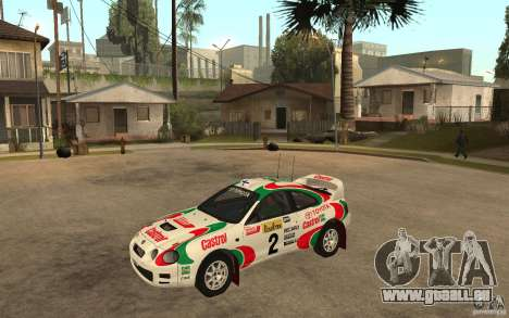Toyota Celica GT4 DiRT für GTA San Andreas