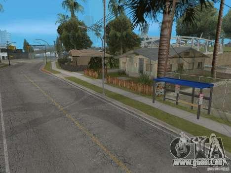 Nouvel arrêt de bus pour GTA San Andreas