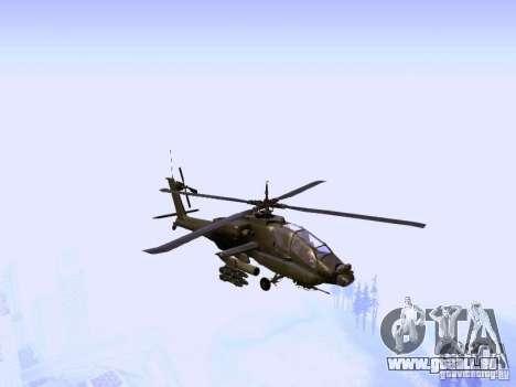 HD Hunter pour GTA San Andreas vue arrière