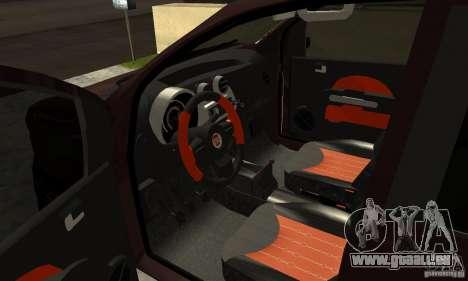 Fiat Novo Uno Sporting für GTA San Andreas Rückansicht