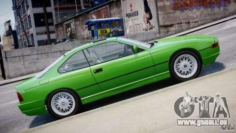 BMW 850i E31 1989-1994 pour GTA 4 Salon