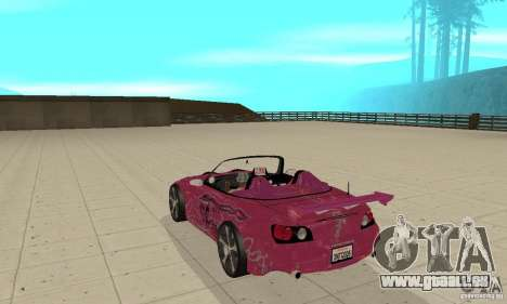Honda S2000 The Fast and Furious für GTA San Andreas rechten Ansicht
