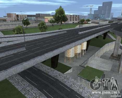 Neue Straßen für GTA San Andreas fünften Screenshot