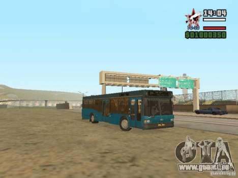 MAZ-103 s pour GTA San Andreas laissé vue