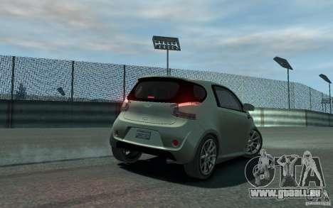 Aston Martin Cygnet 2011 pour GTA 4 est une vue de l'intérieur
