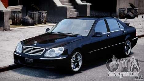Mercedes-Benz W220 pour GTA 4