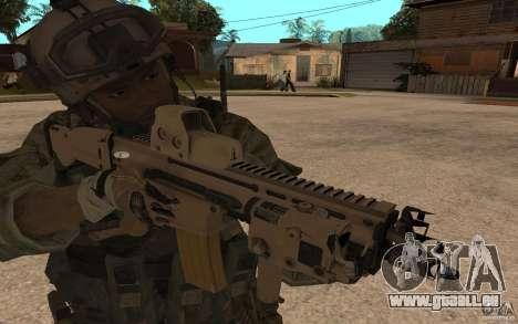 SCAR FN MK16 für GTA San Andreas
