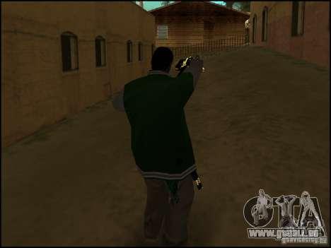 Arme à une main pour GTA San Andreas deuxième écran