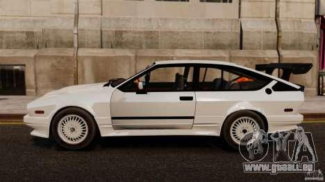 Alfa Romeo GTV6 1986 pour GTA 4 est une gauche