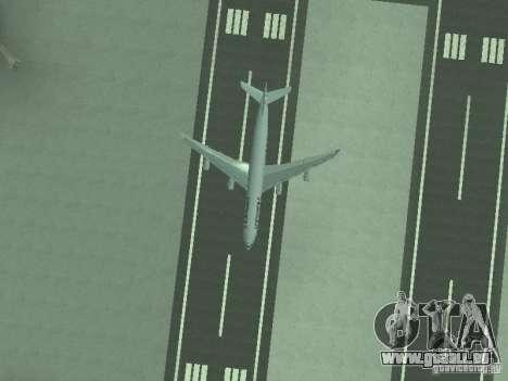 Airbus A340-300 Air France für GTA San Andreas Seitenansicht