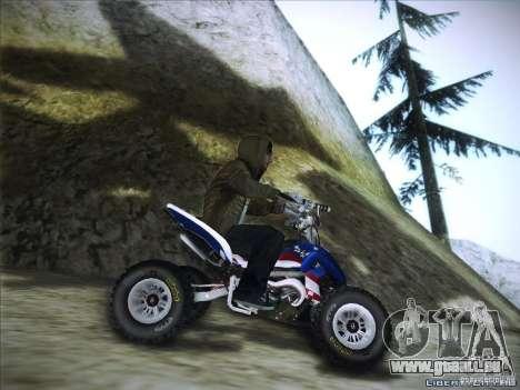 Bike Pure pour GTA San Andreas vue arrière