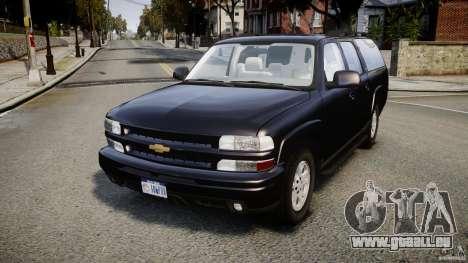 Chevrolet Suburban Z-71 2003 pour GTA 4
