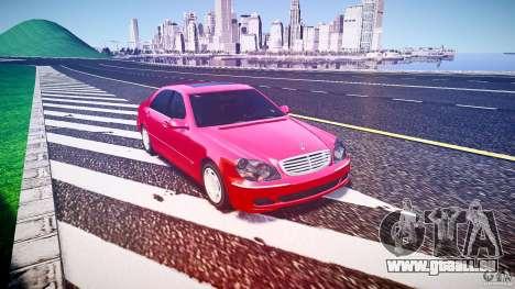 Mercedes-Benz S600 pour GTA 4 est un droit