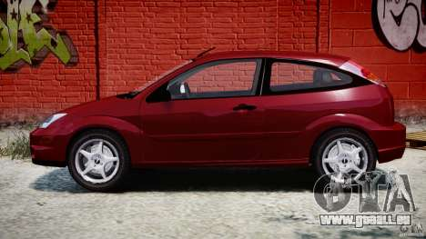 Ford Focus SVT pour GTA 4 est une vue de l'intérieur