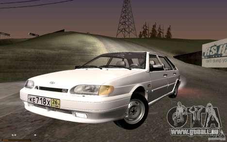 ВАЗ 2114 qualité pour GTA San Andreas