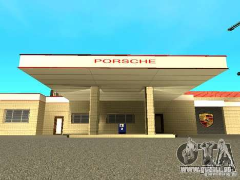 Garage Porsche pour GTA San Andreas deuxième écran