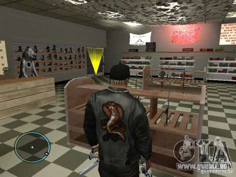 Russian Ammu-nation für GTA San Andreas fünften Screenshot