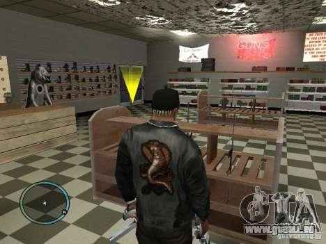 Russian Ammu-nation pour GTA San Andreas cinquième écran