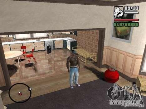 Ami James & Chris Nunez Tattoo pour GTA San Andreas cinquième écran