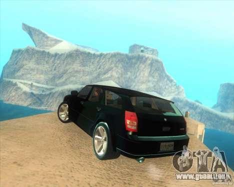 Dodge Magnum RT 2008 v.2.0 pour GTA San Andreas laissé vue