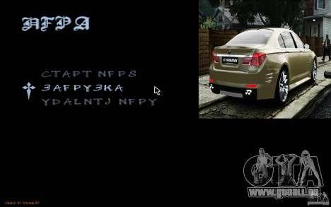 HUD de M0r1s pour GTA San Andreas troisième écran